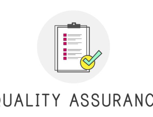 NEW! Quality Assurance Frameworks